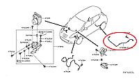 Nissan Leaf Сенсор задній антибукс