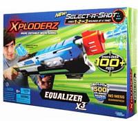 Водно-пневматический бластер Equalizer X3 Xploderz (46040)