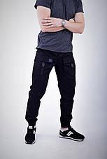 Мужские карго штаны черные ТУР Bane, фото 3