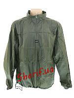 Тактическая куртка-ветровка дождевик MIL-TEC с чехлом Olive 10330001