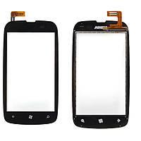 Nokia Lumia 610 Сенсорный экран  черный