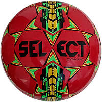 Мяч футбольный SELECT Dynamic красный размер 4
