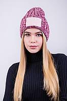 Модная утепленная женская шапка