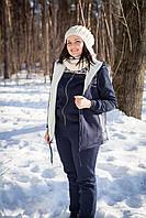 Женская жилетка трикотажная на флисе Белла. Размер 52, 54