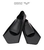 Короткие ласты для плавания Arena PowerFin (Black)