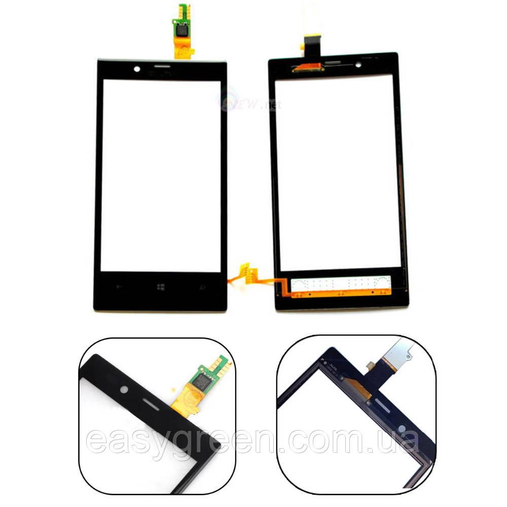 Nokia Lumia 720 Сенсорный экран черный ОРИГИНАЛ, фото 1