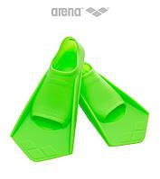Короткие ласты для плавания Arena PowerFin (Acid Lime)