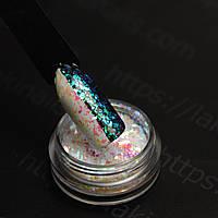 """Конфетти """"Битое стекло"""" для дизайна ногтей, FH-05"""