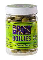 Бойлы Brain Green Peas (Горох) Soluble 200 gr