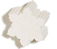 Натуральное мыло ручной работы ЧистоТел Зимнее Утро Снежинка 100 г (2.02.1Ф)