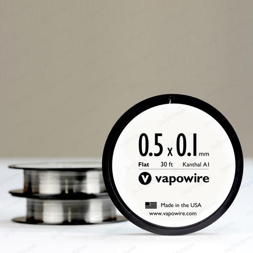 Плоский кантал 0,1х0,5 мм