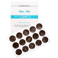 """Пилинговое мыло, 55 г """"Rose de Mer"""" Peeling Solution Christina"""
