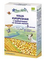 Каша Fleur Alpine Кукурузная с пребиотиками на козьем молоке 200г