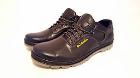 Мужские кожаные туфли больших размеров 46,47,48,49 Columbia