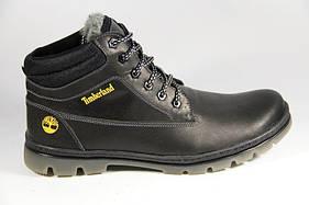 Мужские зимние кожаные ботинки больших размеров 46,47,48,49,50 Big Boss  Timberland