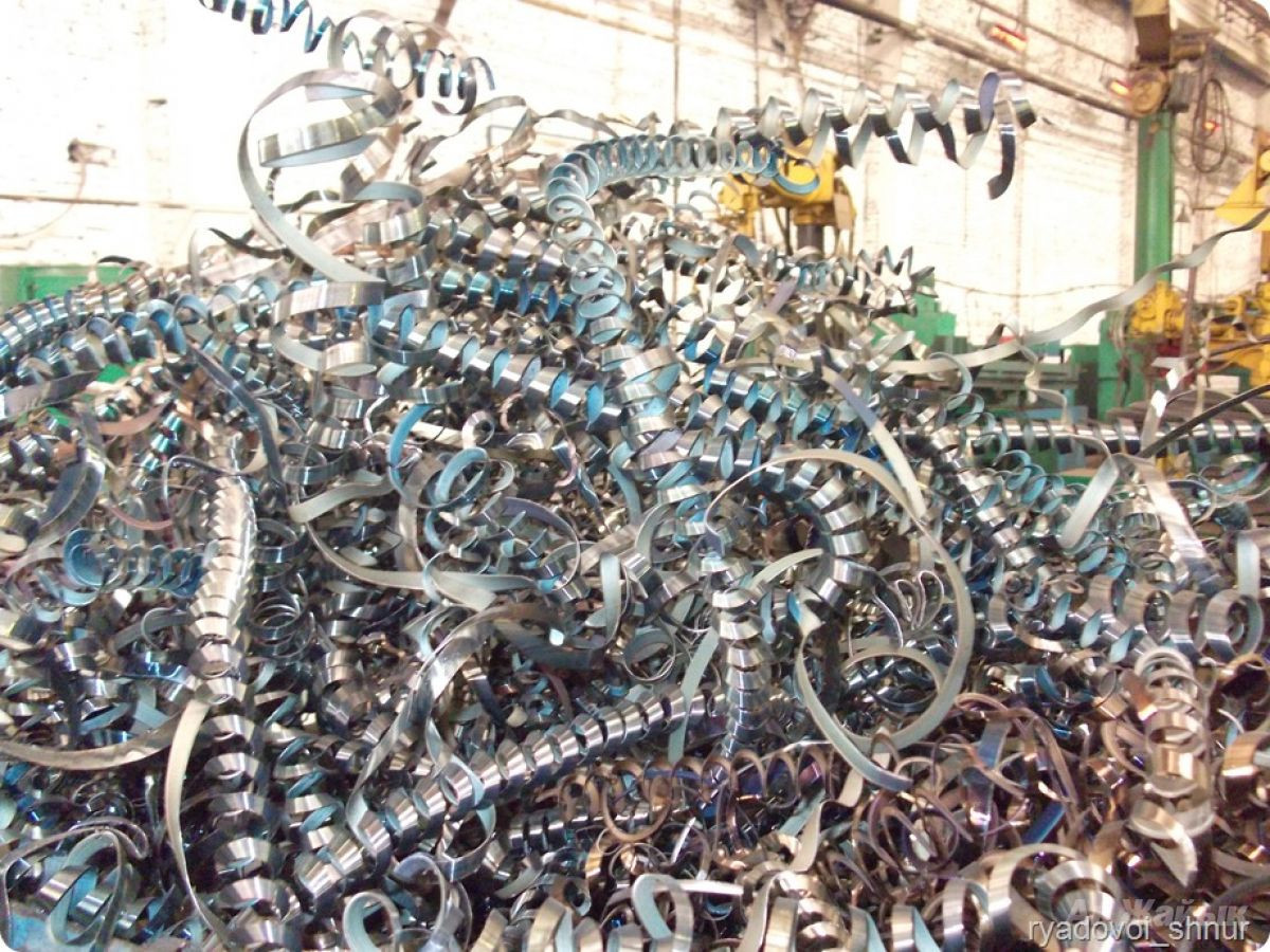 Покупаем стружку металлическую черных и цветных металлов. Львов Львовская область.