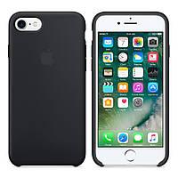 Силиконовый чехол на iPhone 7/8 Черный Silicon case iphone 7/8 Black
