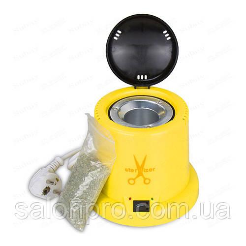 Стерилизатор кварцевый (шариковый) пластиковый, желтый