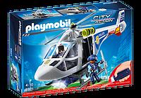Конструктор Playmobil 6921 Полицейский вертолет с LED прожектором
