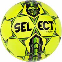 Мяч футбольный SELECT X-Turf желтый размер 4