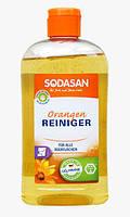 Органическое моющее средство Апельсин для удаления стойких и жировых пятен Sodasan