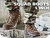 Ботинки  армейские   демисезонные  тактические  TROOPER' 5 INCH  цвет  коричневый  Mil-Tec   Германия, фото 5