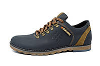 Мужские кожаные кроссовки Columbia Shoes blue