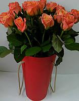 Декоративна коробка для квітів W5154, 18,5*31 Декоративная коробка для цветов