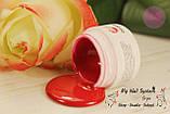 Гель-краска My Nail №15, 4гр. Без липкого слоя. Цвет: розово-красный, фото 2