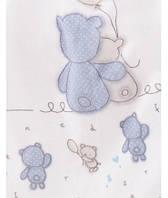 Мягкий и качественный детский плед/покрывало KARACA HOME BLUE BEARS