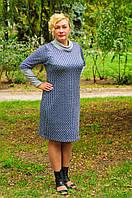 Женское трикотажное платье, фото 1