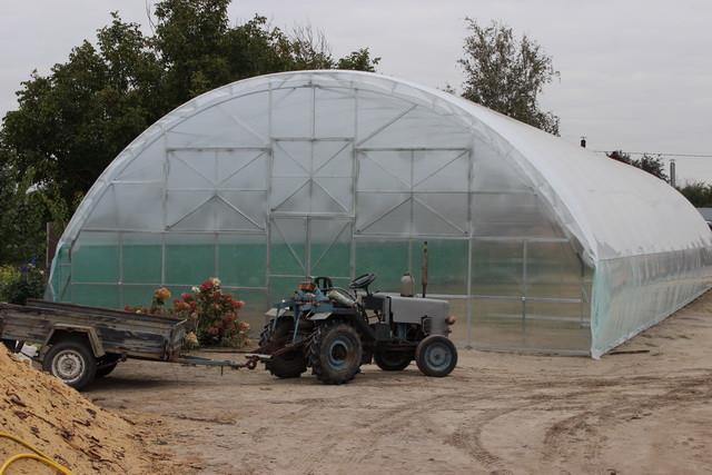 фермерская теплица для цветовgjl под поликарбонат и пленку
