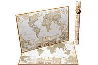 Скретч карта мира My Map Antique Edition