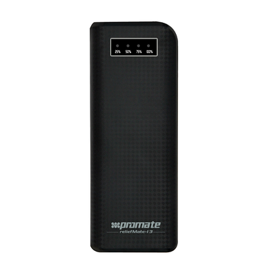 Универсальная мобильная батарея Promate reliefMate-13 Black