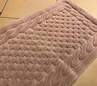 Gelin home коврик в коробке ERGUVAN 60х100 темно-коричневый