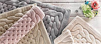 Gelin home коврик ERGUVAN 80х150  тёмно-розовый