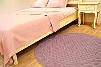Gelin home коврик ERGUVAN круглый 120  тёмно-розовый
