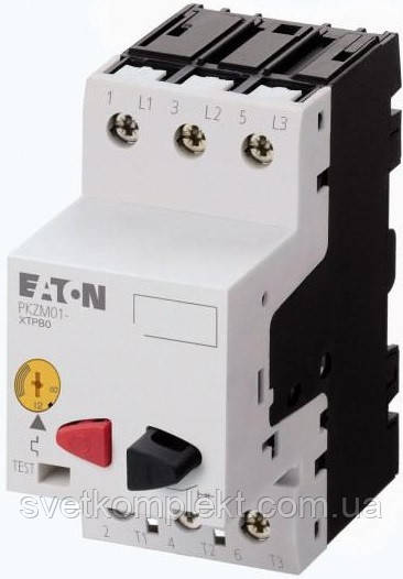 Автомат захисту двигуна PKZM01-0,25 0.25 А Eaton (278476)