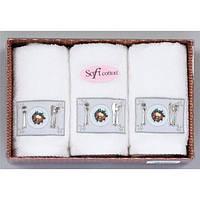 Soft cotton Кухонные наборы KITCHEN 3-х предм Beyaz белые
