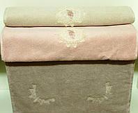 Soft cotton коврик для ног DESTAN 50х90  тёмно-розовый