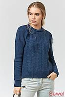 Зимний теплый женский свитер