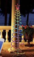 Спиральная елка Magic Spiral 1,2м, с мульти-динамикой