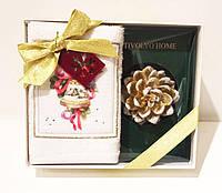 Tivolyo Home салфетки RIBBON 30*50 полотенце + свеча