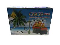 Уголь для кальяна кокосовый 1 кг