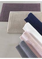 Soft cotton коврик для ног LOFT 50х90  тёмно-синий