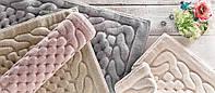 Gelin home н-р коврик ERGUVAN 60х100+50х60  тёмно-розовый