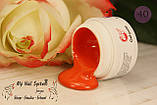 Гель-краска My Nail №40, 4гр. Без липкого слоя. Цвет: ярко-оранжевый, фото 2