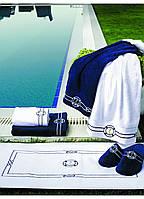 Soft cotton коврик для ног MARINE 50х90  белый