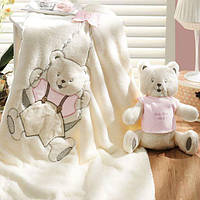 Gelin home детский вязанный плед OYUNCAKLI pembe розовый