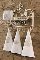 Soft cotton Кухонные наборы OTTOMAN 3-х предм серый